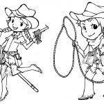 Cowboy Coloring Pages Lego Sheets Free Printable Coloring Pages