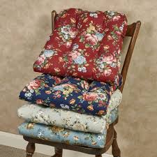 bella rose chair cushions touch to zoom