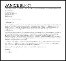 Stock Controller Cover Letter Sample Cover Letter Templates Examples