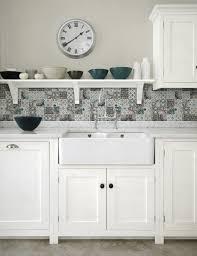 Country Kitchen Backsplash Patchwork Backsplash For Country Style Kitchen Ideas Homestead