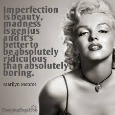 Marilyn Monroe Quotes Imperfection Is Beauty Best Of Marilyn Monroe Quote Sleeping Angel
