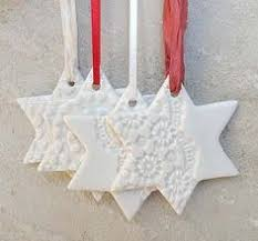 Handmade Porcelain Christmas Snowflake Decoration £10.00 ...