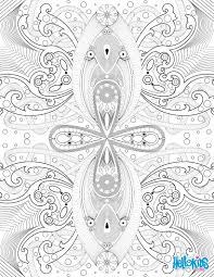 Coloriage Pour Adulte Original Et Graphique Style Zentangle De
