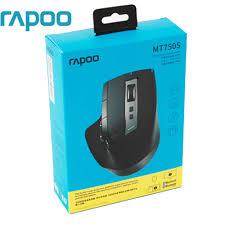 Original Rapoo MT750/MT750S <b>Rechargeable</b> Multi mode <b>Wireless</b> ...