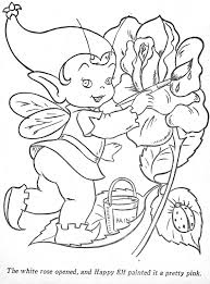 Coloring Pages Happy Elf Coloringfantasy Faeries And Wee Folk