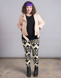 What To Wear With Patterned Leggings Simple Inspiration Design