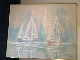 lee reynolds sail boat painting instappraisal 38740 view all
