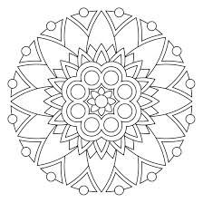 Free Mandala Coloring Pages For Kids Mandala Coloring Pages Kids