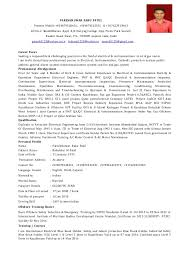 resume examples cover letter sample resume mechanical engineer - Electrical  Technician Resume