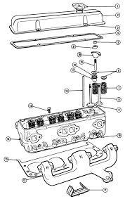 engine diagram parts of a v diy wiring diagrams pontiac x 307 engine head illustrated parts break down