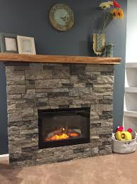electric fireplace stone inspirational 27 stunning fireplace tile ideas for your home airstone fun diy