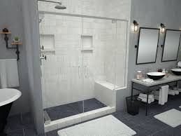 tile shower bench. Plain Tile Redi Bench Shower Seat Inside Tile Bench L