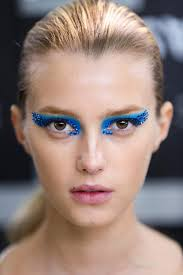 blue eyes for vire makeup ideas via