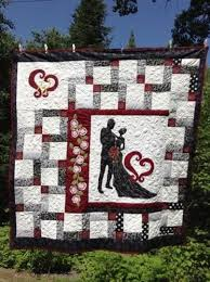 Wedding Quilt Patterns Extraordinary From This Moment A Wedding Quilt Fabric Pinterest Weddings