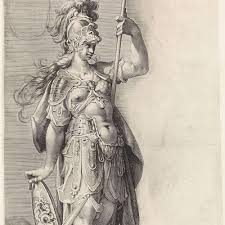 Minerva, Jan Harmensz. Muller (toegeschreven aan), 1598 - 1602 ...