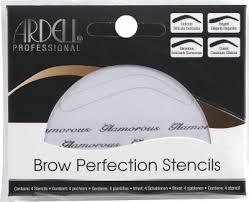 <b>Ardell Brow Perfection</b> Stencils - Набор <b>трафаретов</b> для бровей ...