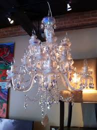 photo of area 25 dallas tx united states crystal chandelier from prague