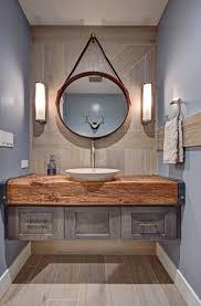rustic modern bathroom vanities. Rustic Modern Bathroom Design - Floating Vanity Wood Slab Countertop Orange County Vanities I