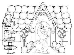 Frozen 2 Olaf Kleurplaat