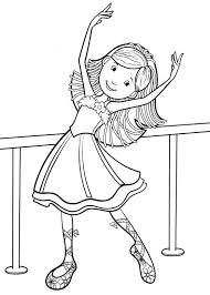 Small Picture Girl dance coloring pages ColoringStar