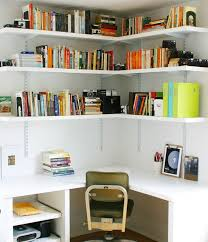 wall storage ideas for office. 15 Corner Wall Shelf Ideas To Maximize Your Interiors Storage For Office