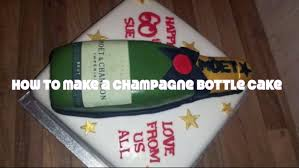 Champagne Bottle Cake Decoration How to make a champagne bottle cake food cakes YouTube 43