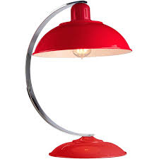desk lamp red retro bureau desk lamp cream red red desk lamp dimmer