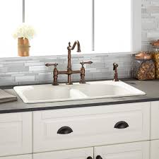 Kitchen sinks and faucets Delta Kitchen Sinks Costco Wholesale Kitchen Hardware Fixtures And Decor Signature Hardware