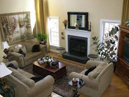 Decorating A Large Living Room With Fireplace