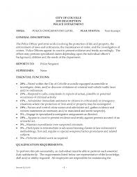 Cover Letter Cbp Officer Job Description Job Description For Cbp