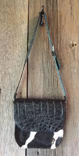 Jen Black Designs Jen Black Saddle Bag Jen Black Designs Handbags Black