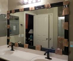 framed bathroom mirrors diy. Fascinating Diy Bathroom Mirror Frame 32 By Home Design Inspiration With Framed Mirrors
