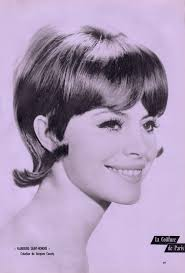 60 S Hairstyle Flip From La Coiffure De Paris Magazine Avril 1962