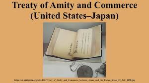 「Japan and the United States, Commerce and Navigation Treaty」の画像検索結果