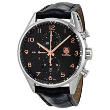 watches by carrera bling lass rings necklaces jewelry and watches tag heuer carrera calibre 1887 chronograph automatic black dial mens watch car2014 fc6235