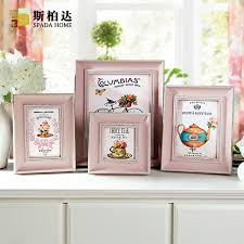 4 6 7 10 inch cute pink family frame wall art ps photo on family picture frame wall art with 4 6 7 10 inch cute pink family frame wall art ps photo korean frame