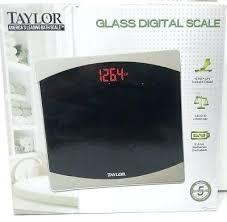 taylor glass digital scale glass digital bathroom scale taylor glass digital scale model 7562