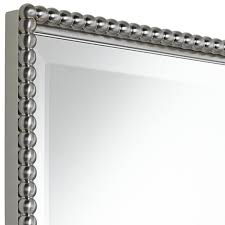 brushed nickel mirror. Bathroom Mirrors Brushed Nickel Frame Home Design Ideas Sumptuous Intended For Vanity Mirror 9 R