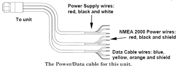 lowrance nmea cable wiring diagram lowrance wiring diagrams description check fuse to make sure it has not blown on the nmea 2000 leg of the power cable ensure that the nmea 2000 power connections are clean and