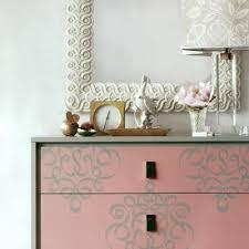image stencils furniture painting. allover damask ribbon furniture stencils for painting with chalk paint royal design studio image r