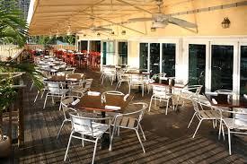 restaurant outdoor furniture plan