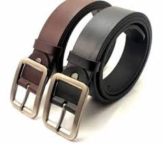 pack of 2 pure leather belts for men