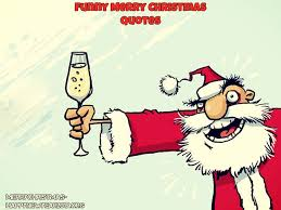 cartoon merry christmas santa funny picure saying