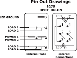 carling dpdt rocker switch wiring diagram images rocker switch wiring navigation lights diagram