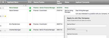 Resume Upload Web Form And Applicant Tracker Smartsheet Mesmerizing Resume Applicant