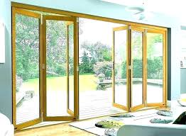 folding glass door cost panoramic doors exterior surprising sliding design replacement estimator accordion canada do