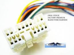 toyota previa oem factory premium radio wire harness plug 1991 1995