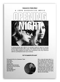 Opening Night | John cassavetes, Opening night, Great films