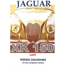 jaguar xk150 late model exploded wiring diagram book 9189 jaguar xk150 late model exploded wiring diagrams book 9189