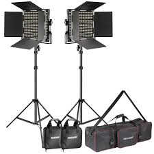 Led Light Kit Details About Neewer Photo 2 Pack Dimmable Bi Color 660 Led Video Light And Stand Lighting Kit